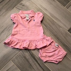 Ralph Lauren pink polo dress